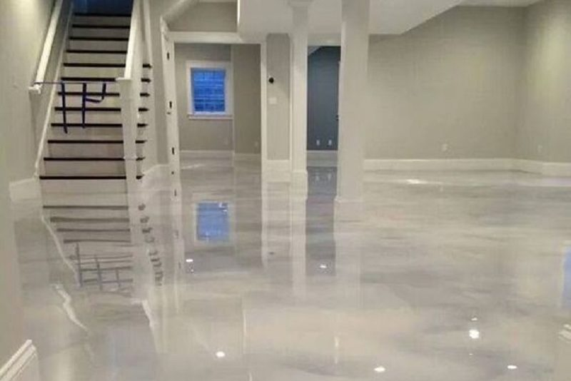 Residential epoxy flooring is certainly having a moment in 2020.