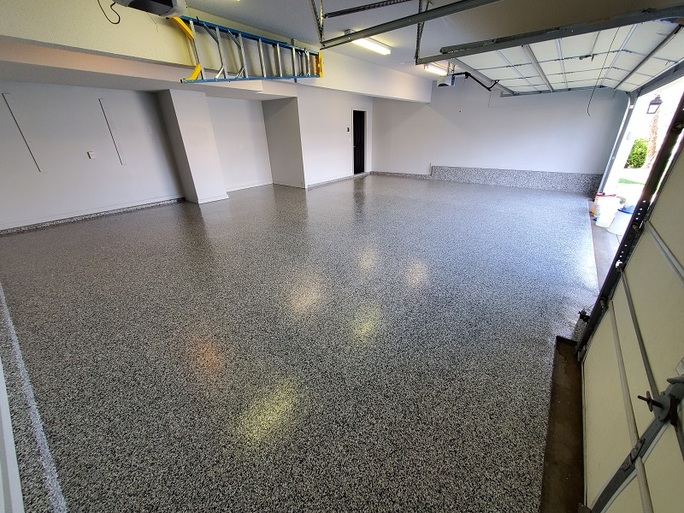 How We Apply the Most Beautiful Epoxy Garage Floors